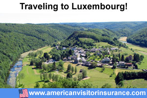 Buy visitor insurance for Luxembourg
