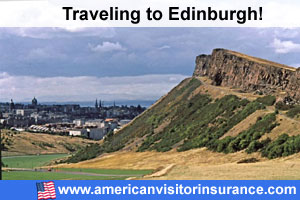 Buy visitor insurance for Edinburgh