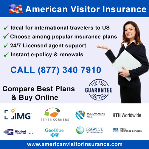 visitor insurance USA