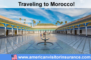 Buy visitor insurance for Morocco
