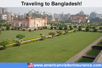 Travel insurance for Bangladesh