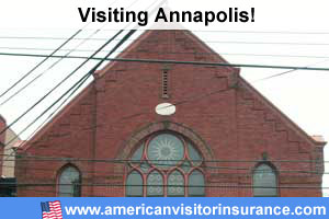 buy travel insurance for Annapolis