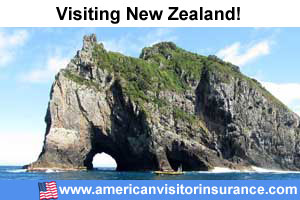 Buy travel insurance for New Zealand