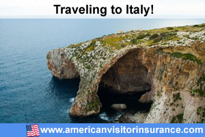 Buy visitor insurance for Italy