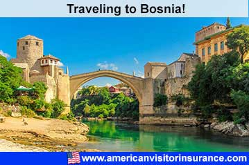 Travel insurance for Bosnia