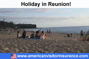 Travel insurance Reunion