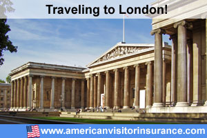 Travel insurance for London