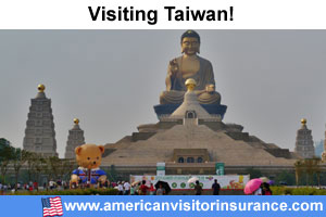 Buy travel insurance for Taiwan
