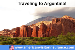 Buy visitor insurance for Argentina