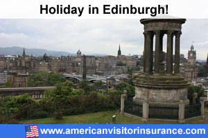 Travel insurance Edinburgh