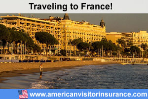 Buy visitor insurance for France