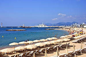 Cannes Beaches