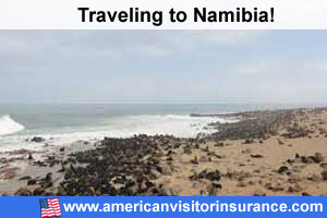 Buy visitor insurance for Namibia
