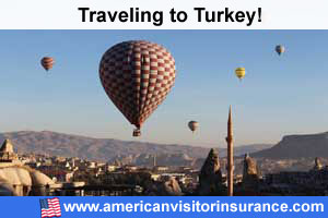 Buy visitor insurance for  Turkey