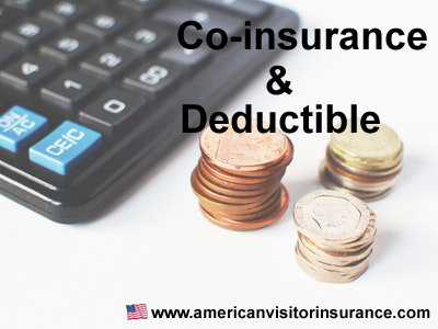 Travel health Insurance deductible and coinsurance