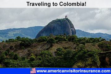 Travel insurance for Colombia