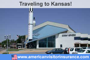 Buy visitor insurance for Kansas