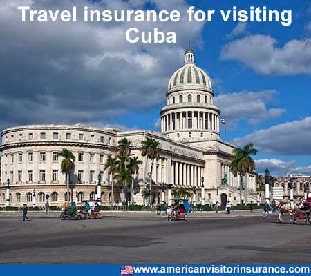 travel insurance for visiting Cuba