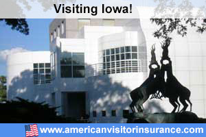 Buy travel insurance for Iowa
