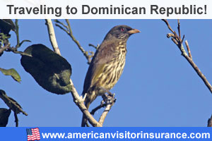Buy visitor insurance for Dominican Republic