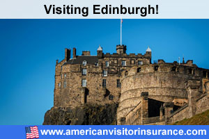 Buy travel insurance for Edinburgh