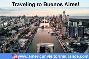 Buy travel insurance for Argentina
