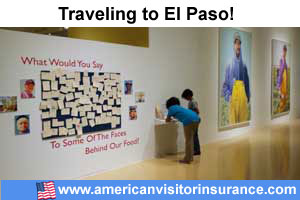 Buy visitor insurance for El Paso