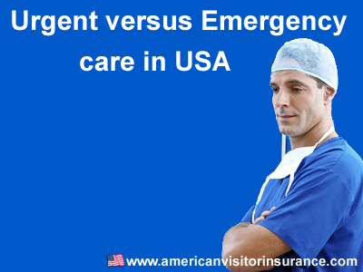 Urgent versus Emergency Care in US