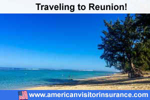 Buy visitor insurance for Reunion
