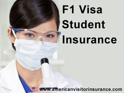 F1 and F2 Visa insurance information