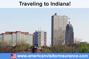 Buy visitor insurance for Indiana