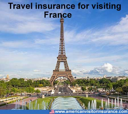travel insurance for visiting France