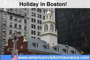 Travel insurance for Massachusetts