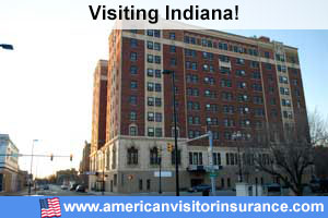 Buy travel insurance for Indiana
