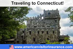 Buy visitor insurance for Connecticut