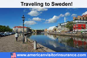 Buy visitor insurance for Sweden