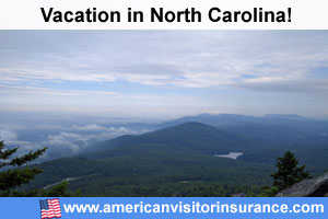 Travel insurance for North Carolina
