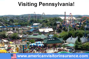 Buy travel insurance for Pennsylvania