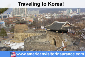 Buy visitor insurance for Korean