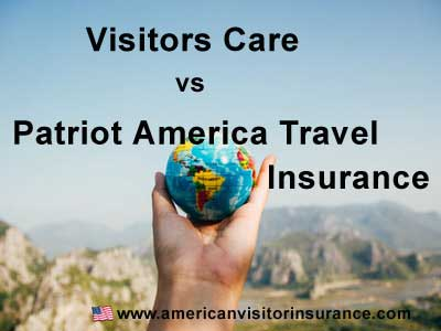 Visitors care vs patriot travel