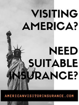 insurance for visiting usa