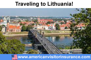 Buy visitor insurance for Lithuania