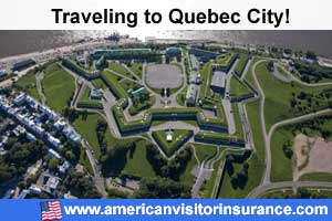 Buy Visitor insurance for Quebec City