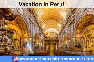 Buy visitor insurance for Peru