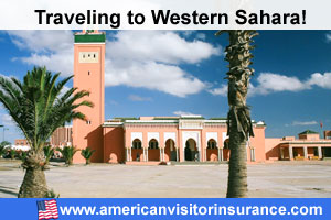 Buy visitor insurance for Western Sahara