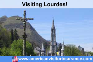 Buy travel insurance for Lourdes
