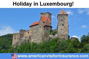 Travel insurance Luxembourg