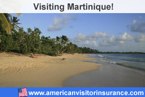 Buy travel insurance for Martinique