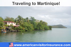 Buy visitor insurance for Martinique