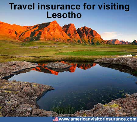 travel insurance for visiting Lesotho